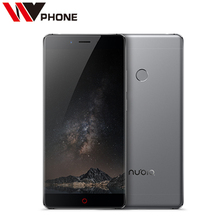 "original Nubia Z11 5.5"" Borderless 4GB/6GB RAM 128GB/64GB ROM Mobile Phone Snapdragon 820 Octa Core 16.0MP Fingerprint NFC(China)"