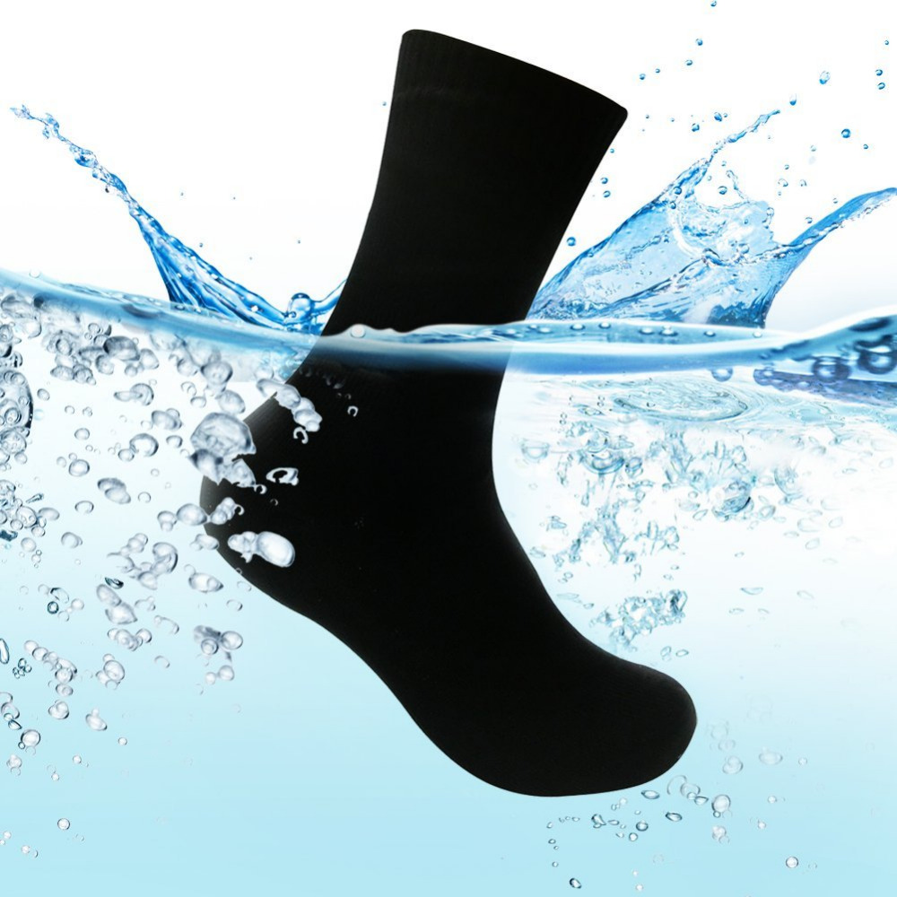 Waterproof Breathable Socks Men Water Cycling Socks Climbing Hiking Skiing Socks Outdoor Dry fast Socks Rayon over Ankle Lengt<br>