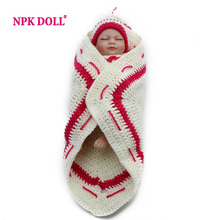 Soft Full Silicone Baby Reborn Girl Sleepy Lifelike Vinyl Mini Child Love Dolls Little Mommy Baby Toy Christmas Gift