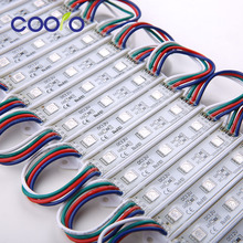 LED 5050 3 LED Module 12V waterproof RGB Color changeable led modules lighting,100PCS/Lot,free shipping(China)