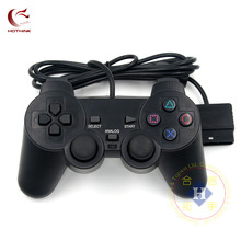 HOTHINK Black Wired Controller 1.8M Double Shock Remote joystick Gamepad Joypad for PlayStation 2 PS2(China)