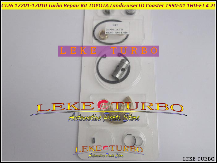 Turbo Repair Kit rebuild CT26 17201-17030 17201 17030 1720117030 For TOYOTA Landcruiser Land cruiser 95 1HD 1HD-FT 4.2L 204HP<br>