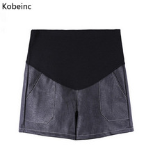 Buy Kobeinc New Shorts Pregnant Women Autumn Winter Loose Casual Pregnancy Clothes Solid High Waist Maternity Shorts M L XL XXL for $10.52 in AliExpress store