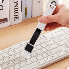 Hot 2in1 Keyboard Dust Cleaner Brush Keyboard Duster Sweeper Cleaning Tools for Lens Filter Digital Camera Window Laptop Jewelry