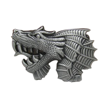 Free shipping cowboys belt buckles metal ( Game of Thrones ) Dragon first brand luxury mens designer belt buckles Christmas gift