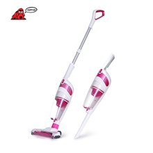 PUPPYOO Low Noise Charge Wireless Home Rod Vacuum Cleaner Portable Dust Collector Home Aspirator Pink D-530()