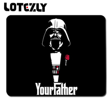 Star Wars Minimalistic Darth Vader Funny The Godfather Black Background Mouse pad Suitable For Optical / Gaming Mouse Pad