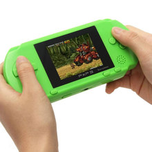 Hot Selling 4 Colors PXP3 Slim Station Pocket Game Kids Student 16-Bit Video Games Player Handheld Game Console+Free Game Card