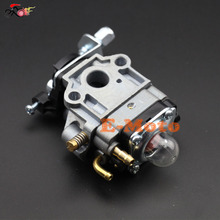 Carburetor Carb 11MM PER MINIMOTO DECESPUGLIATORE TAGLIASIEPE 33 40CC 43CC 47CC 49CC 50CC 2 Storke GAS SCOOTER POCKET MINI BIKE(China)