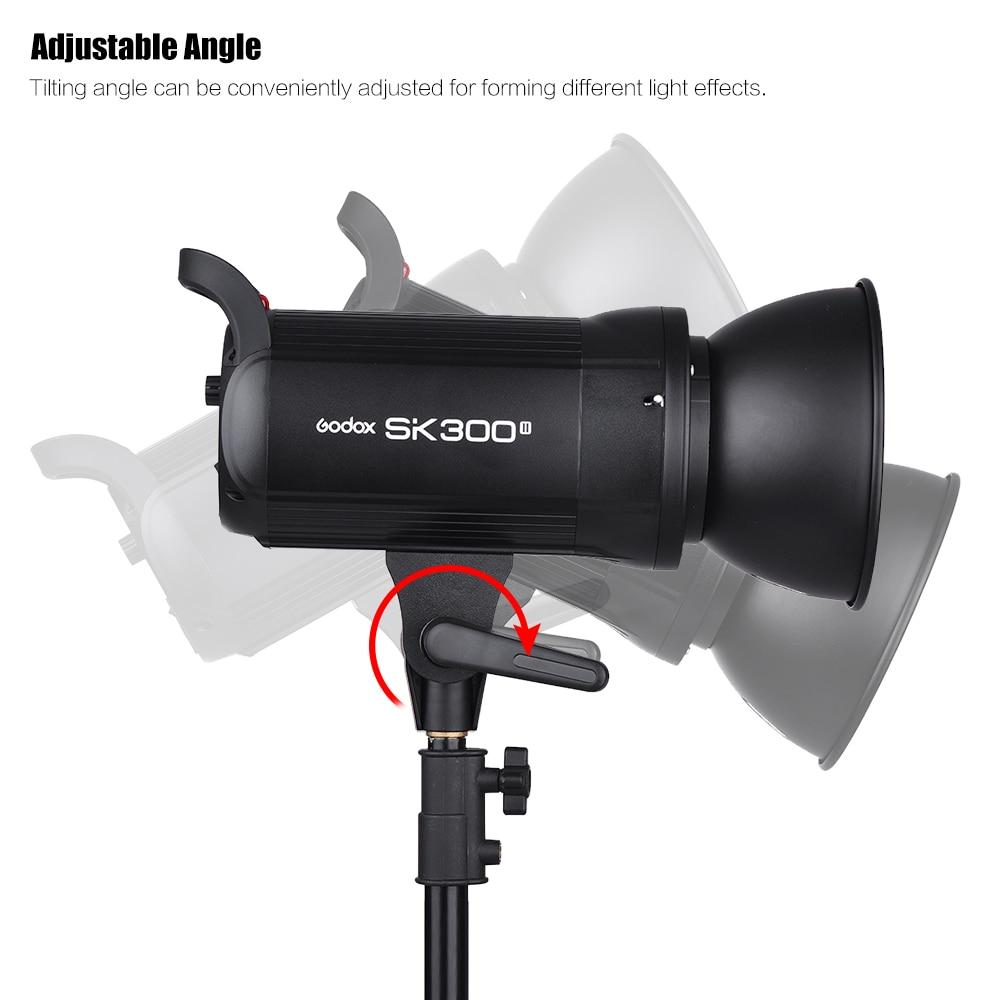 Godox SK300II Studio Flash With 2.4G Wireless X system+Bowen mount standard cover Gift (8)