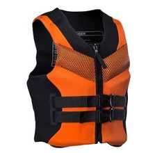 Adults Neoprene Surfing Floating Life Vest Rafting Snorkeling PFD Inflatable Life Jacket Swimwear Surfing Fishing SafeAccessory(China)
