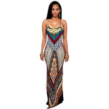 Buy BodyconWomen Summer Maxi Dress Long 2018 Ladies Party Dresses femme Robe Sexy Sundress Backless Bandage Boho Split Bodycon Dress for $13.66 in AliExpress store