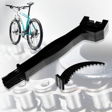Durable MTB Bike Cleaner Blue Motorcycle Bicycle Chain Crankset Cleaning Brush Tool Cycling Tools Accessories(China)