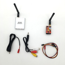 Car Video Wifi Rearview System for Aircraft FPV 5.8Ghz 200mw 8Ch TS351 Wireless AV Transmitter Receiver RC305 for RC MultiCopter
