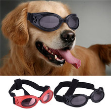 2016 New Desin Dog Sunglasses Windproof UV Protection Goggles Pets Dogs Puppy Eyewear Sun Glasses(China)