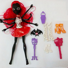 Free shipping New Fashion for Monster Doll Removable Joint High Quality WYDOWNA Spider Polyarticular Dolls for Girl Bithday Gift(China)