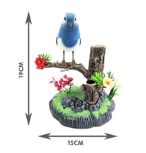 Children's toys simulation induction acoustic music electric birds birds dancing singing parrot