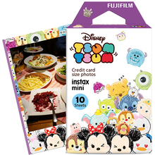 Hot Sale Fuji Fujifilm Instax Mini Instant Film Tsum Tsum Photo Paper 10 Sheets Fr Mini 9 8 90 7s 7 50s 70 25 dw Share SP-1 SP-2