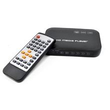 HDMI Media Player, HD601 Black Mini 1080p Full-HD Ultra HDMI Digital Media Player for MKV/RM H.264 HDD USB Drives and SD Cards