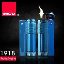 IMCO Brand Stainless steel oil lighter,Blue color cigarette lighter(China)
