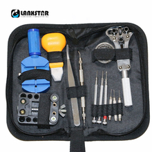 Manufacturer Supply Multifunction Repair Table Tool Set Watch Repairs Kit Clock Tool Repaired 13 in 1 Tools-kit(China)