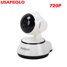 720P IP Camera Wi-Fi Wireless Home Security Camera Surveillance wifi ip Camera Day/Night Vision CCTV Automatic alarm Xmeye icsee(China)