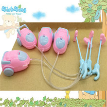 Cute Doll Furniture For Kids Play House High Quality Mini Vacuum Cleaner For Barbies Doll Accessories