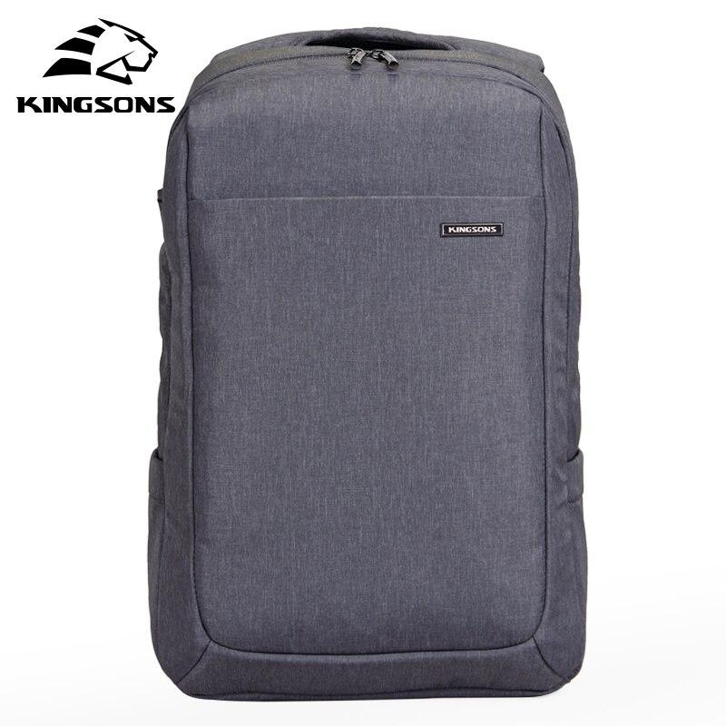 Kingsons 15.6 inch Air Bag Shockproof Waterproof Laptop Backpack Space Knapsack Men Women Computer Notebook Packsack KS3041W<br>