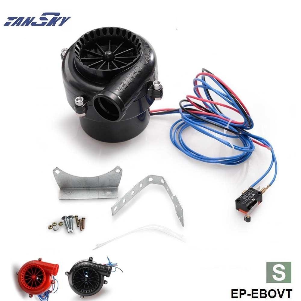 S Size Universal Car Fake Dump Electronic Bov Turbo Blow Off Hooter Valve Analog Sound TK-EBOVT-S