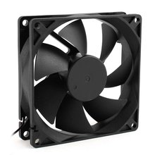 YOC-5* Sale 92mm x 25mm 24V 2Pin Sleeve Bearing Cooling Fan for PC Case CPU Cooler
