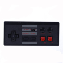 2.4Ghz Wireless Controller Gamepad+ Battery for NES Classic Edition Console for Wii U Game Play Remote Control(China)