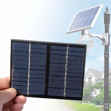 2017 Hot!!!12V 1.5W Solar Power Panel Poly Module DIY Small Cell Charger For Light Battery Phone Toy Portable