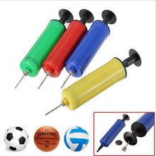 Cycle zone Bicycle air pump Useful Hand Sport Ball Balloon Air Pump Soccer Basketball Inflator Needle Pump 2017