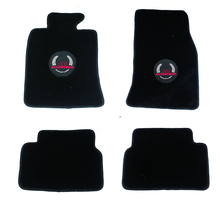 Brand New Floor Mat High Quality Plush Black Grain Style UV Protected Mini Cooper Car Accessories R55-R59(4PCS/SET)