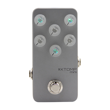 Hotone XTOMP mini Electric Guitar Effect Pedal Simulate Tones CDCM Technology Over 140 Different Effects Bluetooth/USB Download