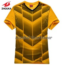 2016 Hot sale design in top quality,football jersey,kids size,in stock,orange color(China)