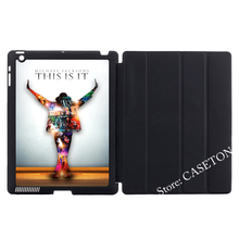 Michael Jackson On Stage Smart Cover Case For Apple iPad Mini 1 2 3 4 Air Pro 9.7(China)