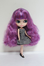 Free Shipping Top discount 4 COLORS BIG EYES DIY Nude Blyth Doll item NO. 43 Doll limited gift special price cheap offer toy(China)