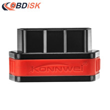 KONNWEI KW901 ELM327 Bluetooth 4.0 ODB2 II Diagnostic Code Scanner Reader Special for IOS/iPhone/iPad BT Adapter ELM327
