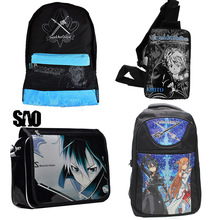 Anime Sword Art Online SAO Bag Backpack Sling Bag Messenger School bag bookbag Kirigaya Kazuto Cosplay Casual