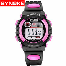 Sport Kids Watches Countdown Time Alarm Chrono Digital Wristwatches 30M Waterproof Boy Girl Clock Children Watch(China)