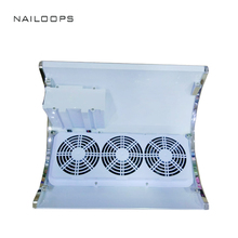 Two Hands Strong Power Fingernail Cleaning Collector Nail Dust Collection Fan Nail Art Salon Machine Nail Dust Collector
