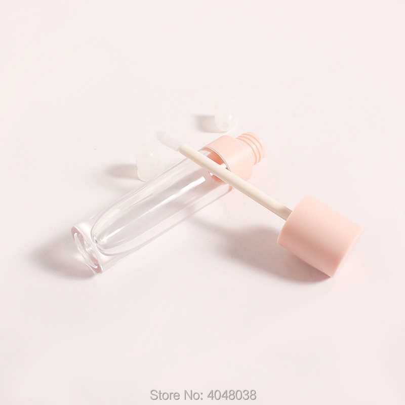 Empty Lip Gloss Container Clear Plastic Lip Tube Containers Lipstick Refillable Bottle Lip Gloss Tubes (6)