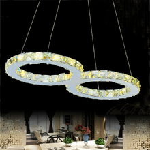 factory price modern crystal LED pendant light Contemporary Lighting contemporary hanging lights european style  suspension