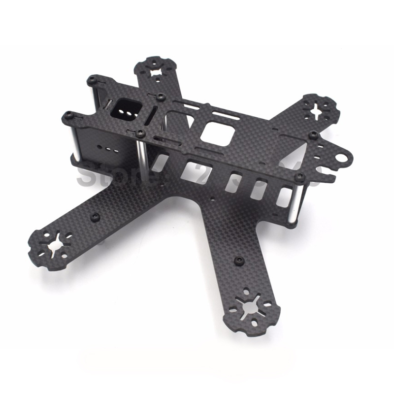 QAV180 180 180mm Pure carbon fiber Mini Frame kit 3mm arms for RC Quadcopter DIY Cross Racing Drones +<br><br>Aliexpress