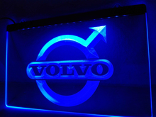 LG008- Volvo LED Neon Light Sign hang sign home decor  crafts