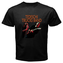 New TEDESCHI TRUCKS BAND Blues Rock Music Men's Black T-Shirt Size S to 3XL