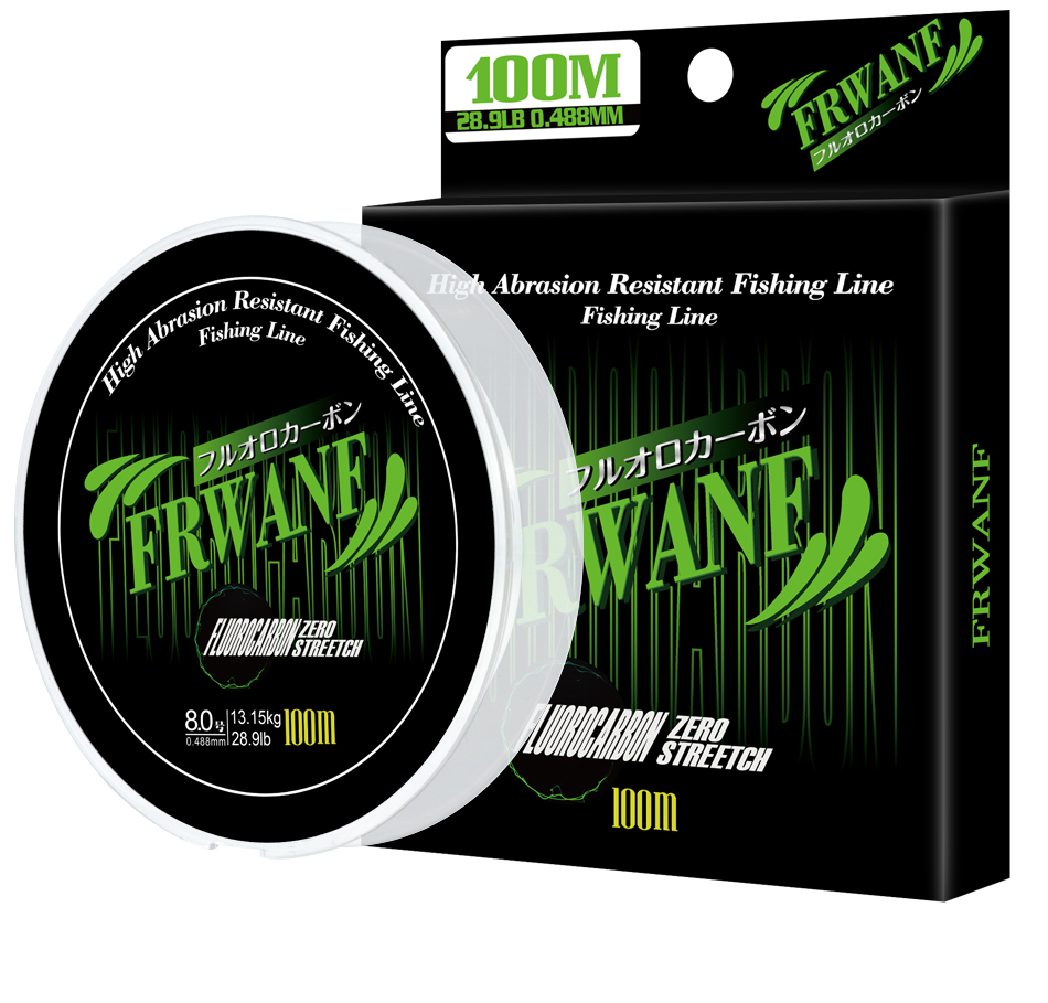 Monofilament Fishing Line Fluorocarbon (12)