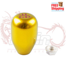 Free shipping (M10*1.5) Racing Six Speed Car Shift Knobs SHIFT LEVER KNOB FITS FOR Honda Acura Civic without any logo(China)