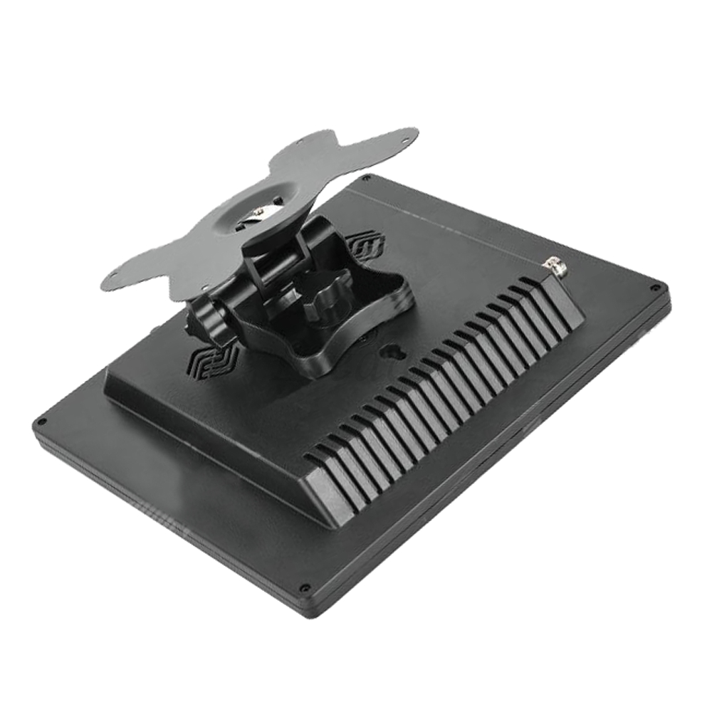 8 inch Car CCTV Monitor PC Portable Monitor Analog TV Receiver Color Video Monitor Screen VGA / TV / AV Input  – Black